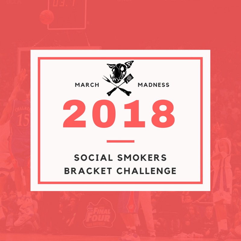 Social Smokers BBQ – March Madness Bracket Challenge